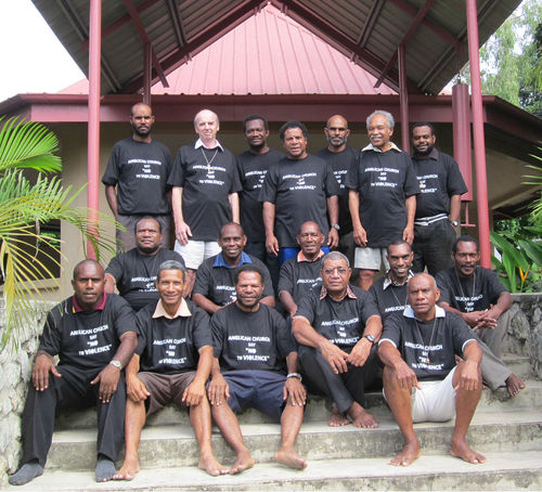 Port Moresby clergy say No to Violence