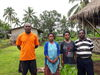 2018, new staff at Kerina, LtoR Fr George Kasme (principal) mother Mary Wali (Womens programme coordinator), Talitha (literacy teacher), Fr Adam Wali (Chaplain and lecturer)