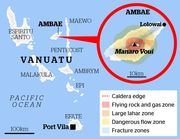 Emergency Appeal - Vanuatu volcano (updated info)