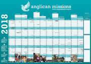Anglican Missions 2018 Wall Planner