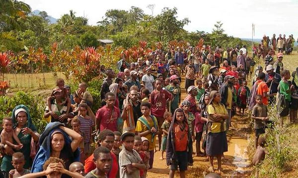 Emergency Appeal for Papua New Guinea launched
