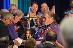 National Indigenous Archbishop Mark Macdonald of Canada