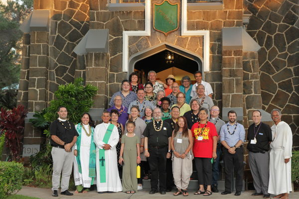 Canon Robert Kereopa attends AIN meeting