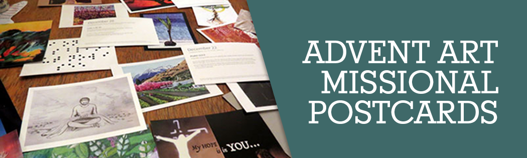 Advent Art: Missional Postcards